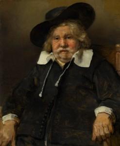 Ritratto di uomo anziano di Rembrandt